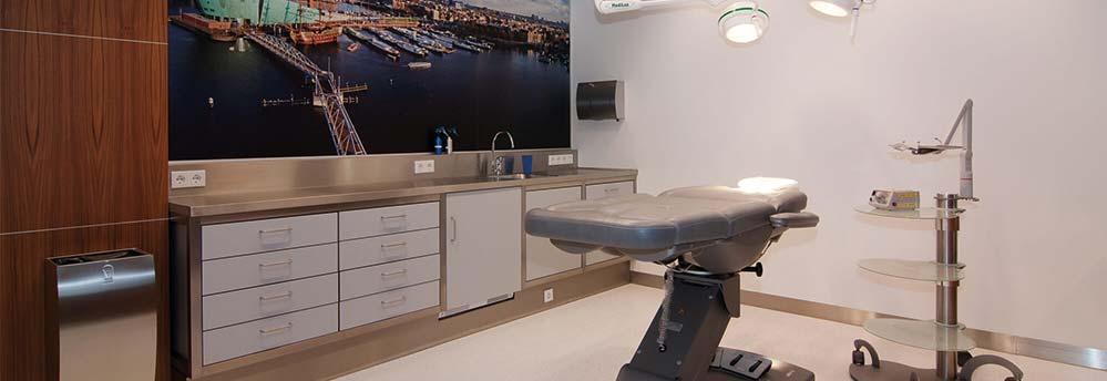 Haartransplantatie kliniek Amsterdam behandelkamer