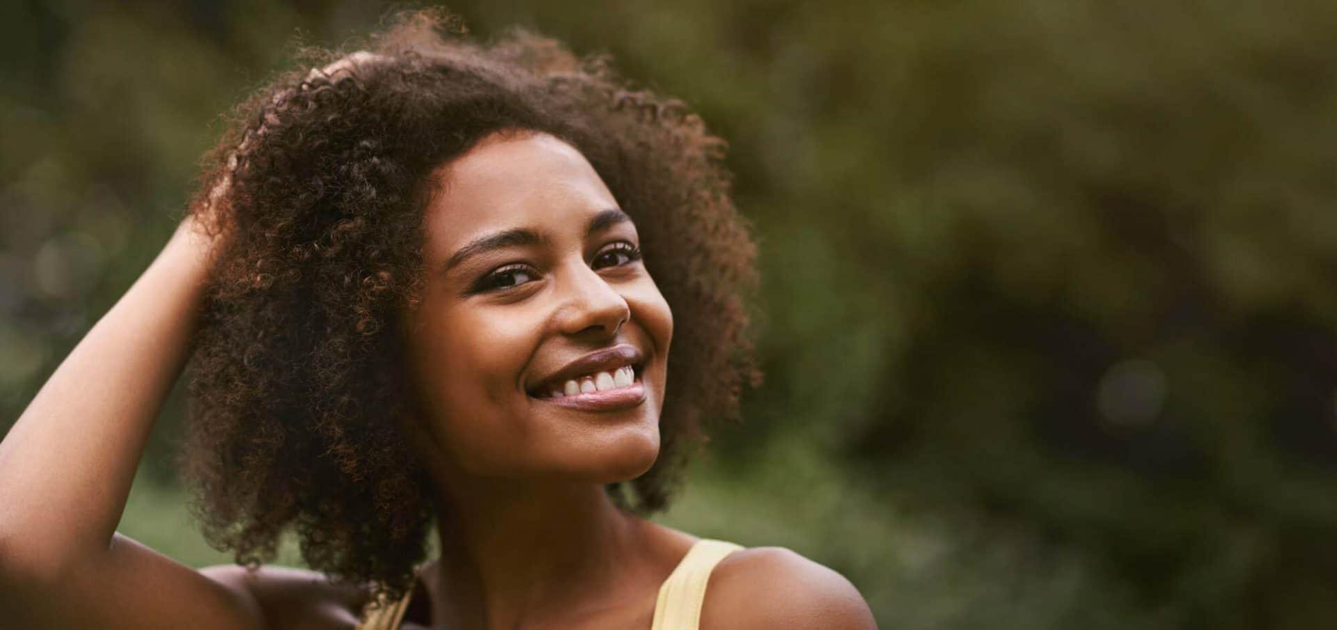 Hair transplant Afro textured hair