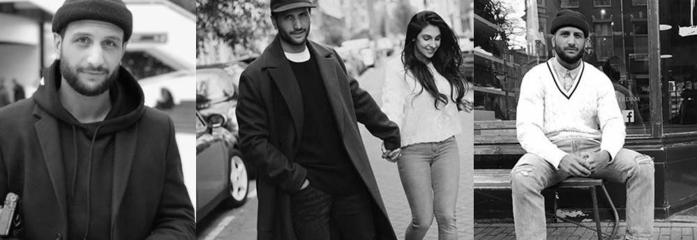 Anna Nooshin en vriend Danny Roumimper