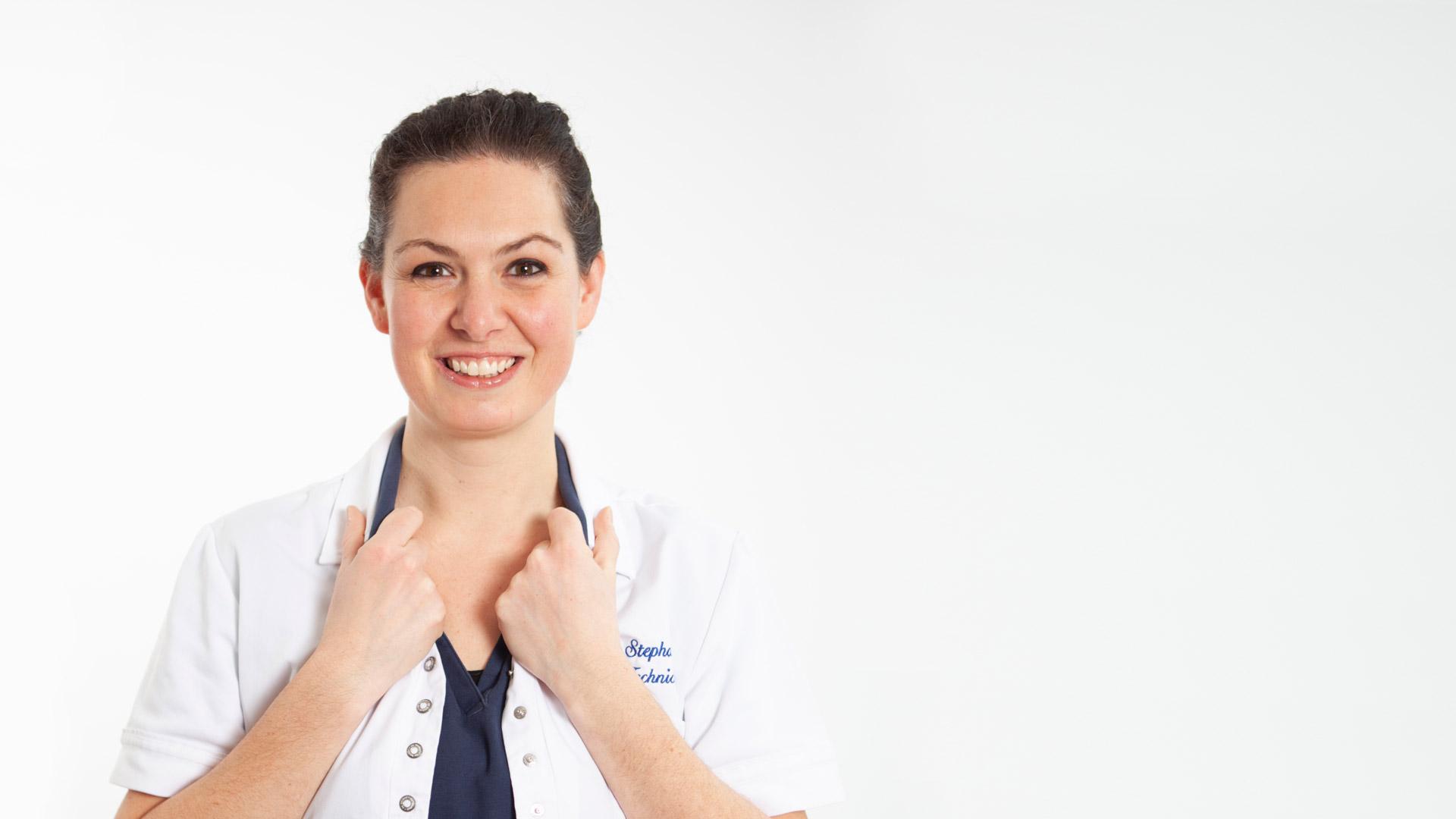 Stephanie, technicienne HSI